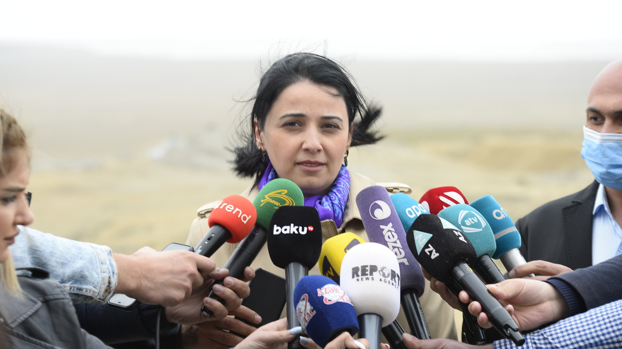 Dövlət Turizm Agentliyi Palçıq Vulkanları Turizm Kompleksinə mediatur təşkil edib