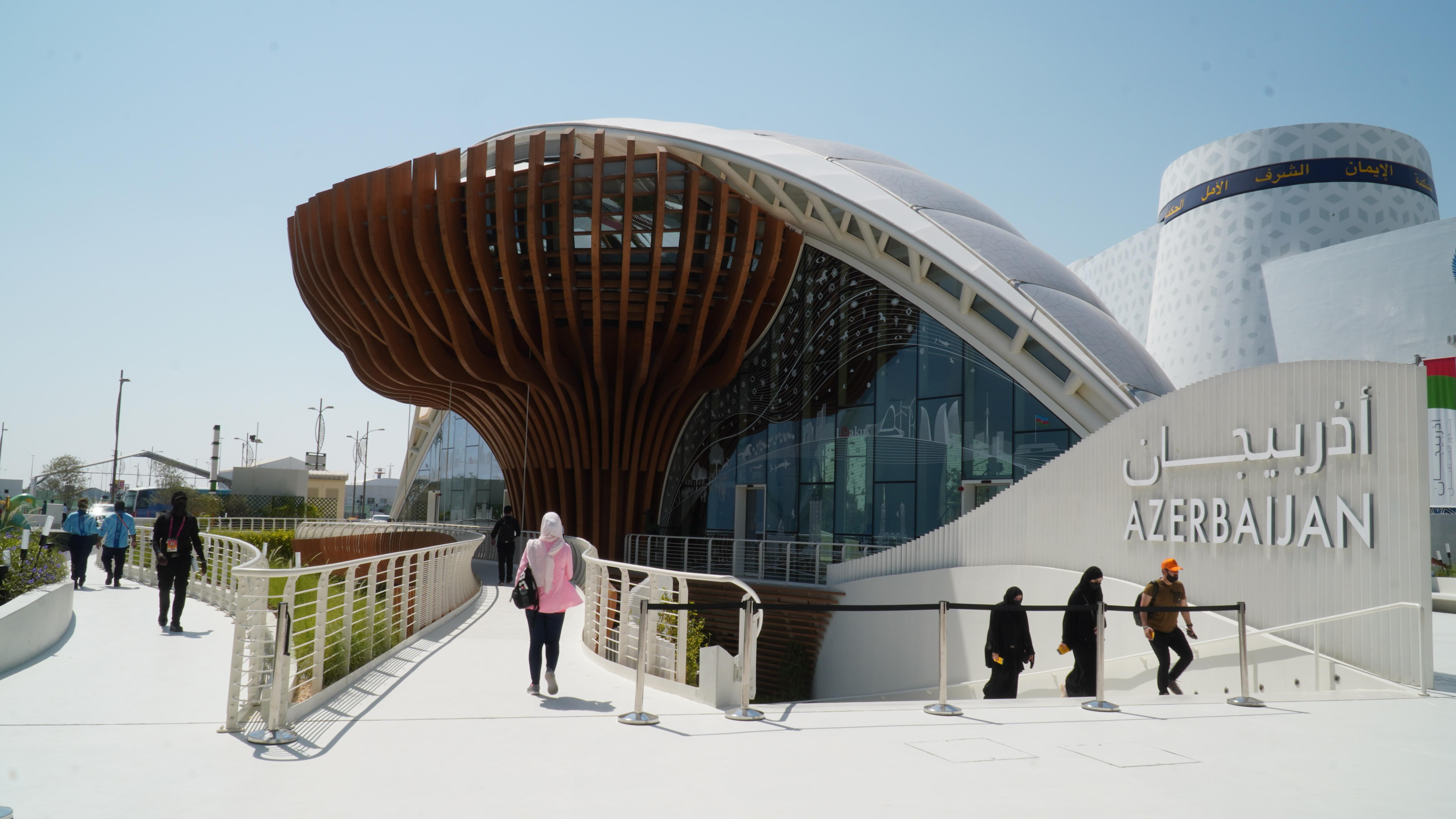 """""""Expo 2020 Dubai"""" beynəlxalq sərgisində Azərbaycan turizm həftəsi start götürüb}"""