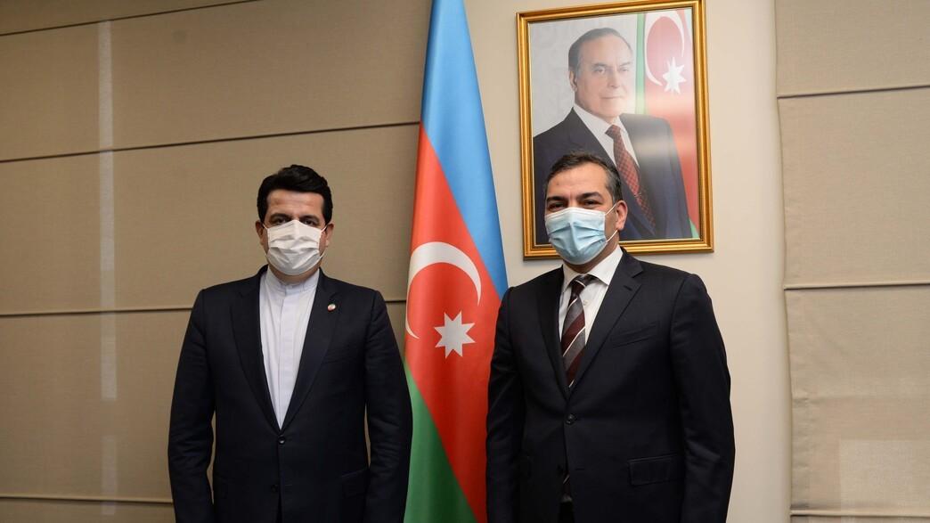 >Azərbaycanla İran arasında turizm əlaqələrinin postpandemiya dövründə inkişaf perspektivləri müzakirə edilib
