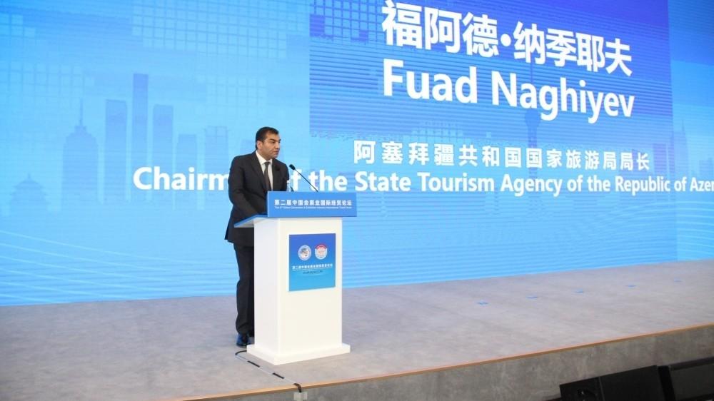 Fuad Nağıyev: Azərbaycana daha çox turistin cəlb olunması üçün Çin tərəfi ilə fəal iş aparılır