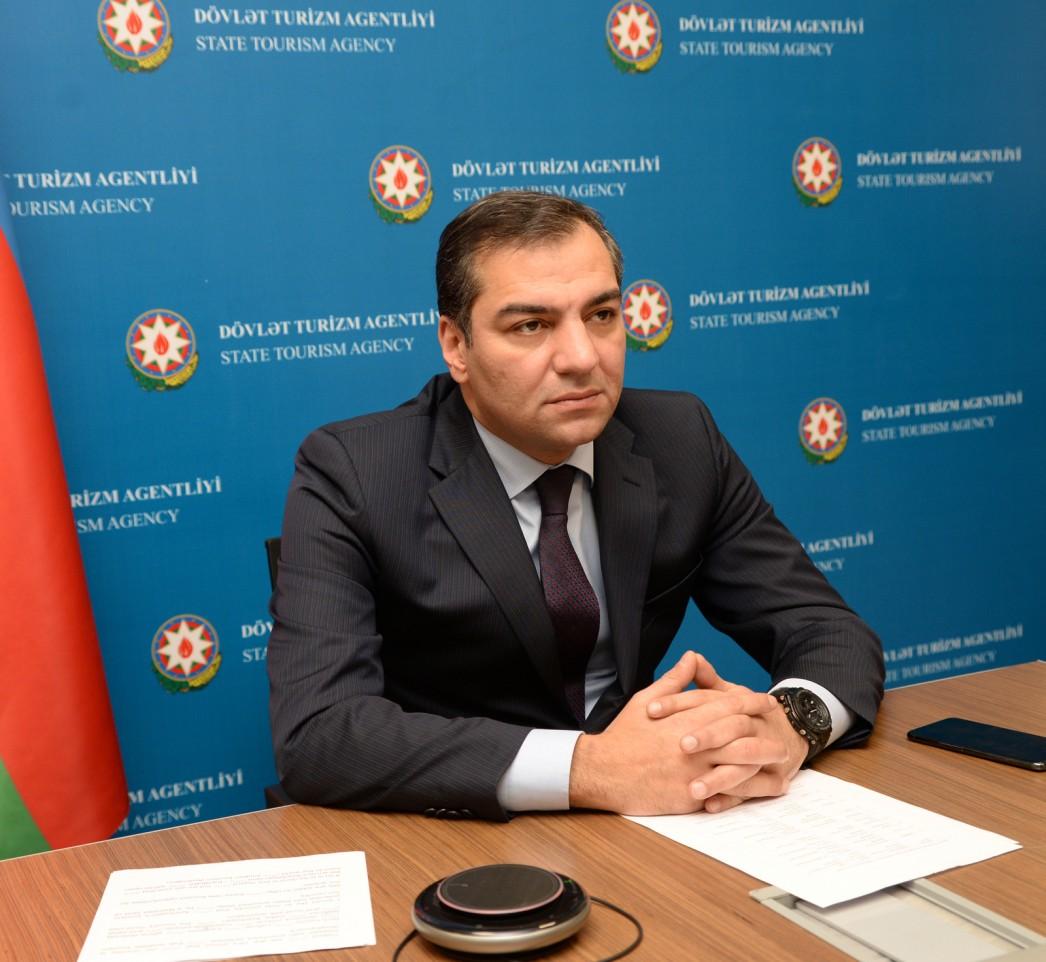 """DTA sədri """"Beynəlxalq turizmin bərpasının həyata keçirilməsi"""" konfransına qatılıb"""