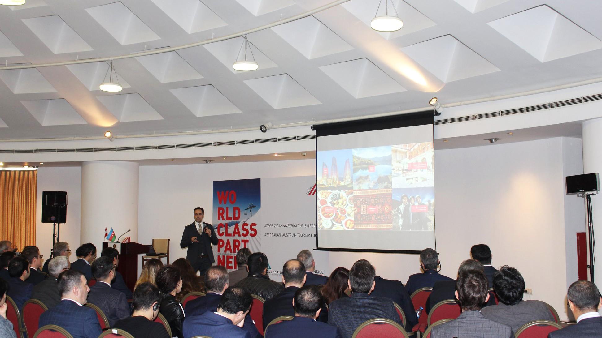 Azərbaycan-Avstriya turizm forumu keçirilib