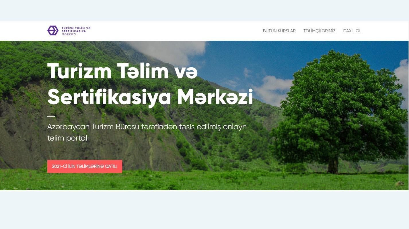 Turizm Təlim və Sertifikasiya Mərkəzi 2021-ci il üçün təlim proqramını elan edib